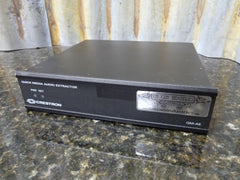 Crestron QM-AE QuickMedia Audio Transmitter Tested Crestron - tin can industries