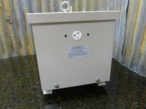 Professional Video Grade Sanyo 115v To 240v Step Up Power Transformer Ships Free