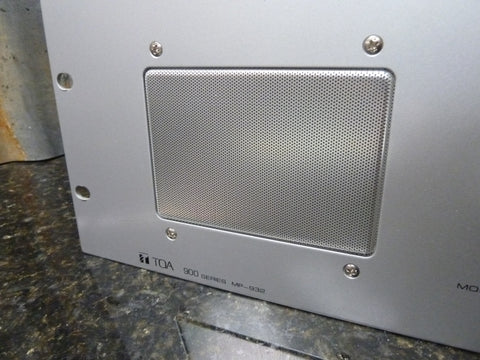 TOA MP-932 10 Channel Aluminum Audio Monitoring Panel In Excellent Condition