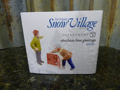 Brand New Dept 56 Snow Village Christmas Lane Greetings 4025323 Free Shipping - tin can industries - 1