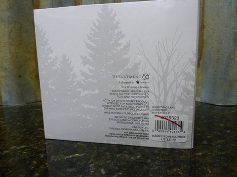 Brand New Dept 56 Snow Village Christmas Lane Greetings 4025323 Free Shipping