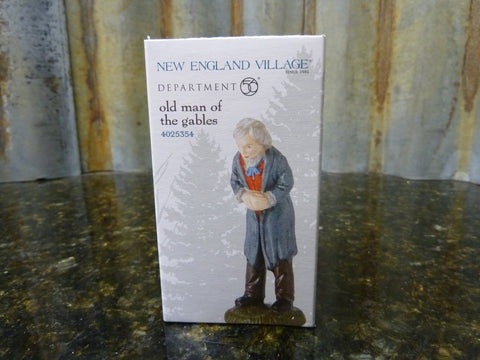Brand New Dept 56 New England Village Old Man Of The Gables 4025354 Ships Free