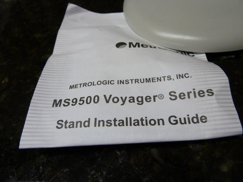 Honeywell Metrologic Voyager MS9500 Series Scanner Stand Complete Brand New