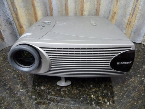 InFocus LP340B DLP Projector Low 357 Lamp Hours Works Great Free Shipping