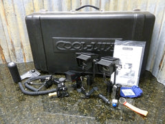 3 Light AC/DC Cool-Lux Mini Cool & MicroLux Video Lighting Kit w/Case Ships Free - tin can industries - 1