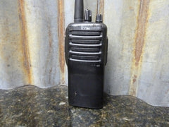 Icom IC-F24 400-470mHz Portable Two Way UHF Radio Fast Free Shipping Included - tin can industries - 1