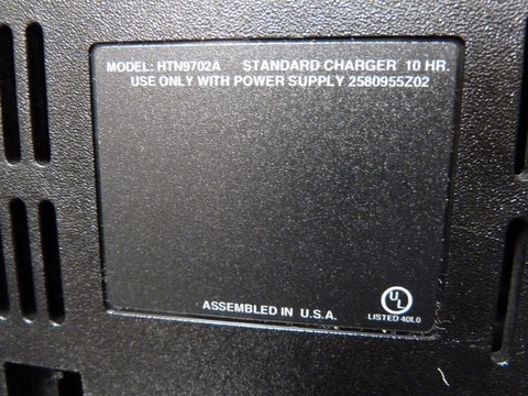 Genuine Motorola HTN9072A Desktop Two Way Radio Charger Fast Free Shipping