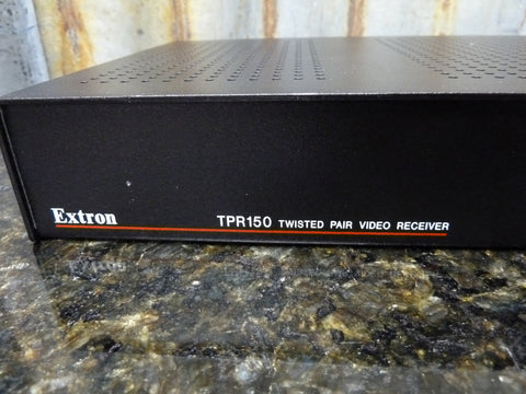 Extron TPR150 Twisted Pair Receiver Great Condition Fast Free Shipping Included