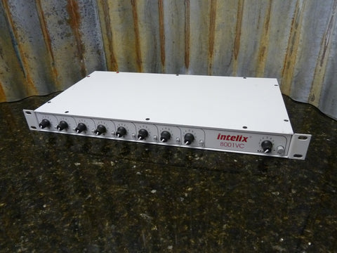Intelix Model 8001VC 8 Channel Rack Mount Audio Mixer Free Shipping Included