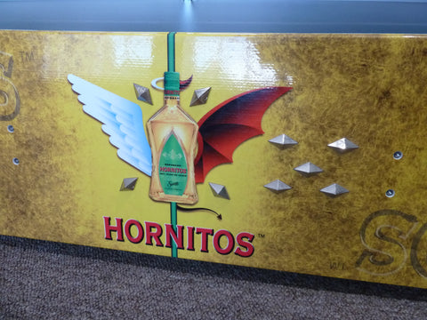 Sauza Hornitos Tequila Spiked Flying Bottle Promotional Snowboard Free Shipping