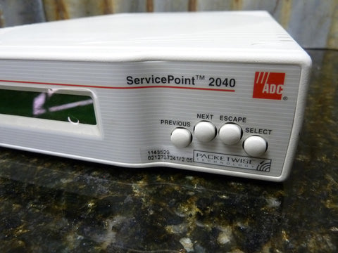 ADC Kentrox Service Point 2040 SDU Modem Passed Self Test Fast Free Shipping