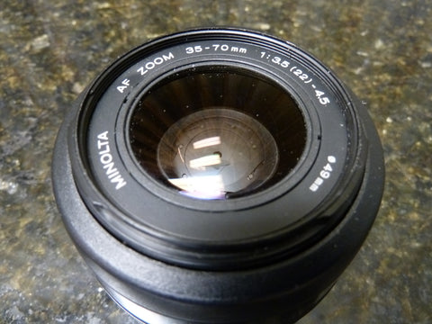 Minolta 35-70mm f:3.5-4.5 AF Zoom Lens Fast Free Shipping Included