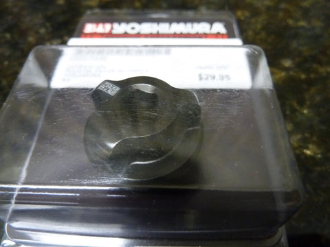 IN STOCK TODAY Yoshimura Oil Filler Plug Black 051BG12100 Free Shipping Included