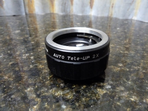 Sun 2x Auto Converter Teleconverter Fits M42 Screw Mount Lens Fast Free Shipping