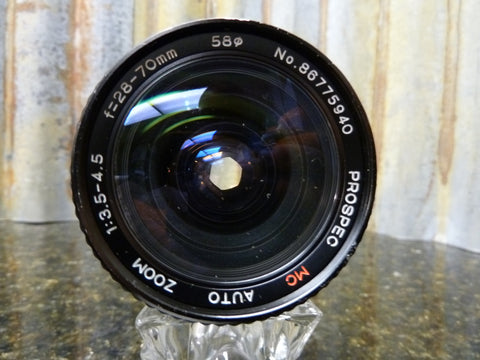 ProSpec 28-70mm f:3.5-4.5 Zoom Lens Nikon Ai Mount Nice Condition Free Shipping