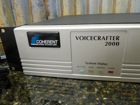 Coherent Systems Voicecrafter 2000 APS-221A-1 Nice Condition 3 Modules