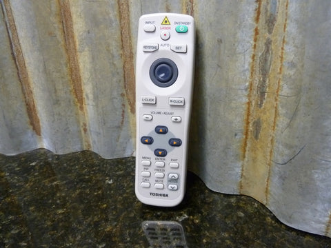 OEM Genuine Toshiba Projector Remote CT-90057 Works On Multiple TLP Models