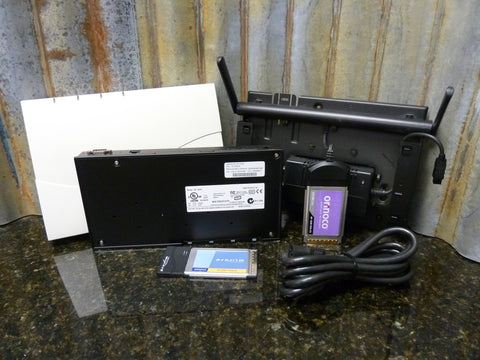 Proxim Orinico Model AP-2000 Wireless Access Point Cards & AC Adapter Included
