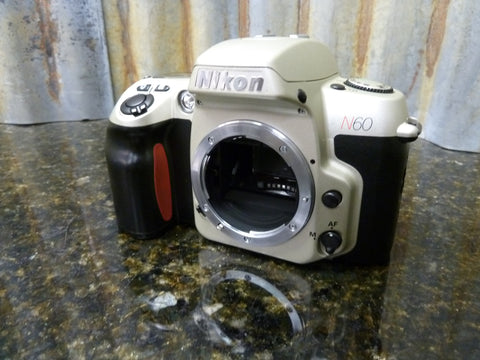 Nikon N60 35mm SLR Film Camera Body Only Great Condition Free Shipping Included