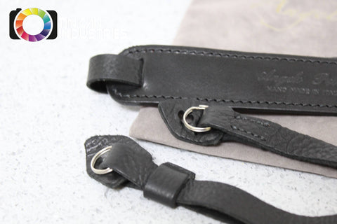 Angelo Pelle Deluxe Premium Camera Strap Hand Stitched Italian Leather FREE S&H