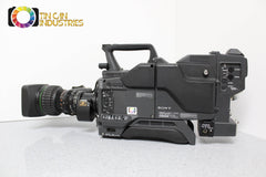 Sony DXC-D35WS 16:9 or 4:3 CA-TX7 Triax Broadcast Studio Camera Canon FREE S&H