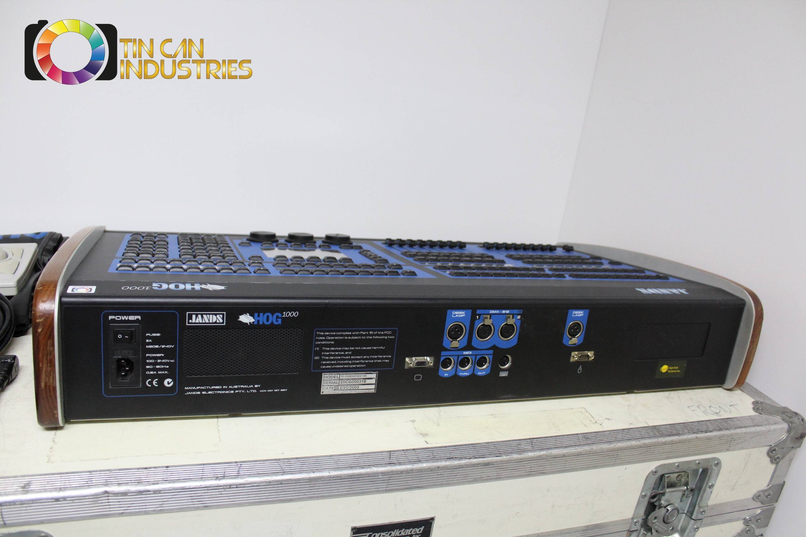 ... High End Systems Jands Hog 1000 Stage Lighting Console w/Road Case FREE SHIPPING ... & High End Systems Jands Hog 1000 Stage Lighting Console w/Road Case ... azcodes.com