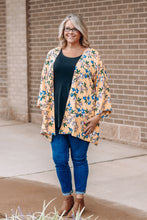 Load image into Gallery viewer, Yellow Floral Kimono