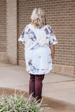 Load image into Gallery viewer, Ivory TieDye Oversized Top