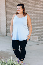 Load image into Gallery viewer, Light Blue Reversible Cami