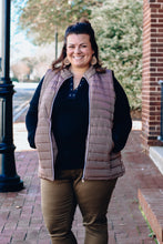 Load image into Gallery viewer, Mocha Quilted Vest