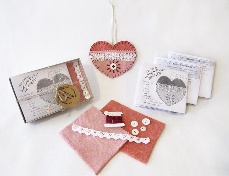 Valentine Sewing Kit