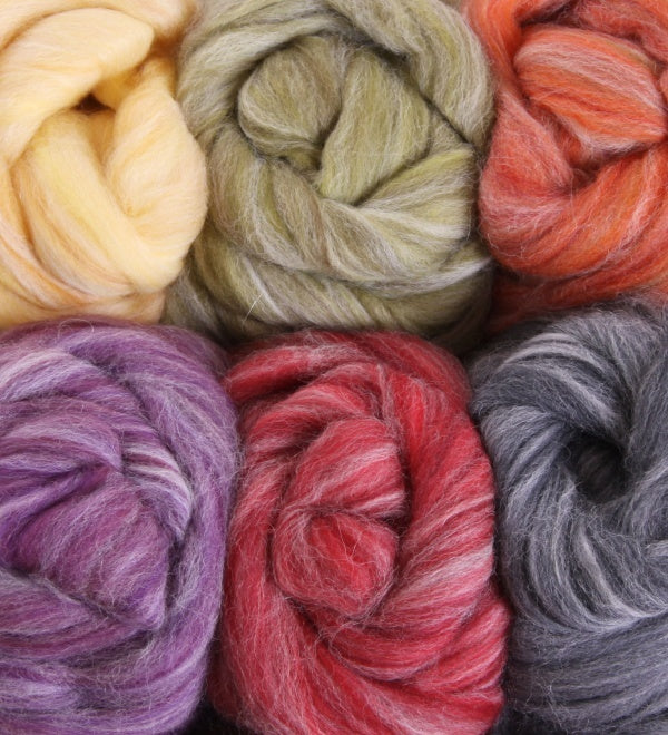 Alpaca & Merino Colour Blends