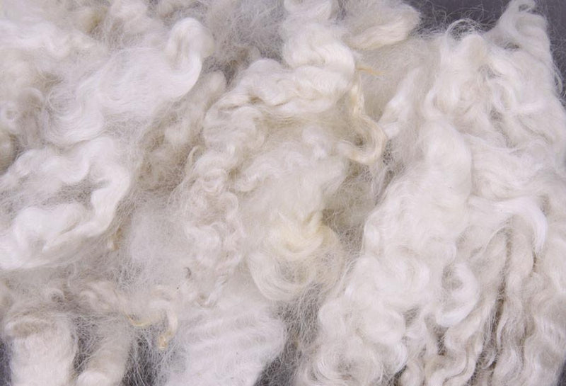 White English Leicester Fibre