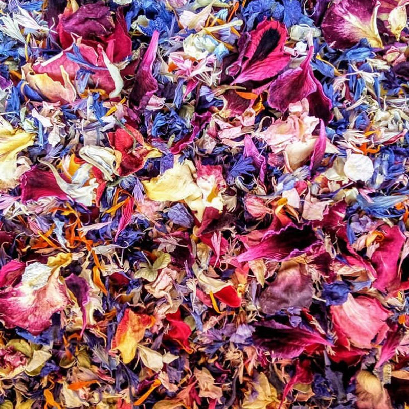Edible Dried Flower Petals