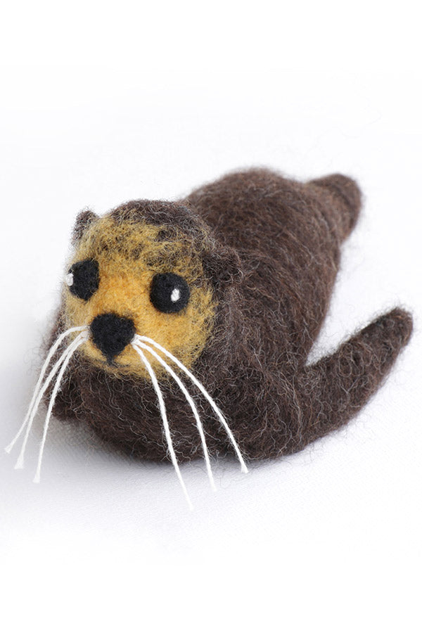Seal Needle Felting Kit