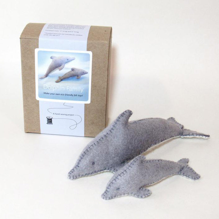 Dolphin Family Sewing Kit