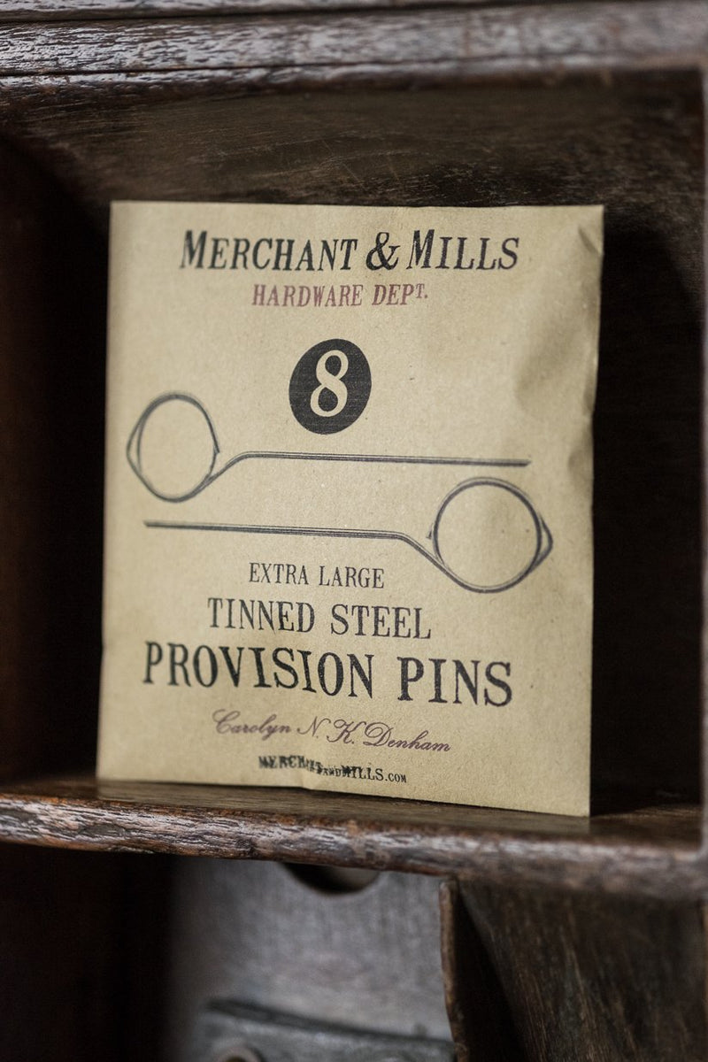 Tinned Steel Provision Pins