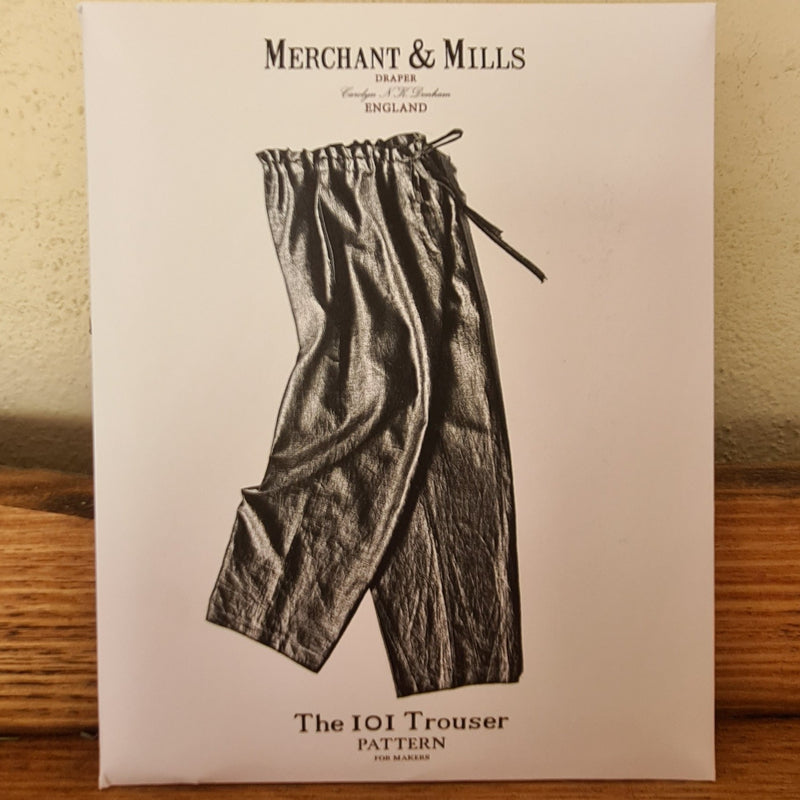 'The 101 Trouser' Merchant & Mills Pattern