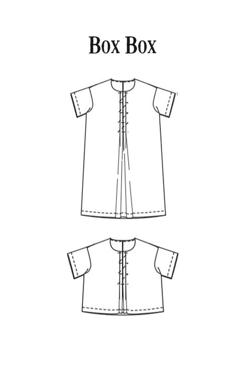 'The Box Box' Merchant & Mills Pattern
