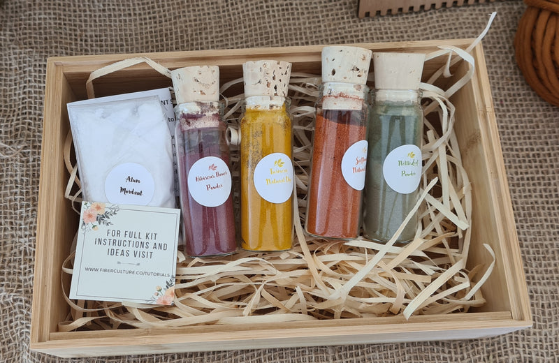 Mini Natural Dye Kit
