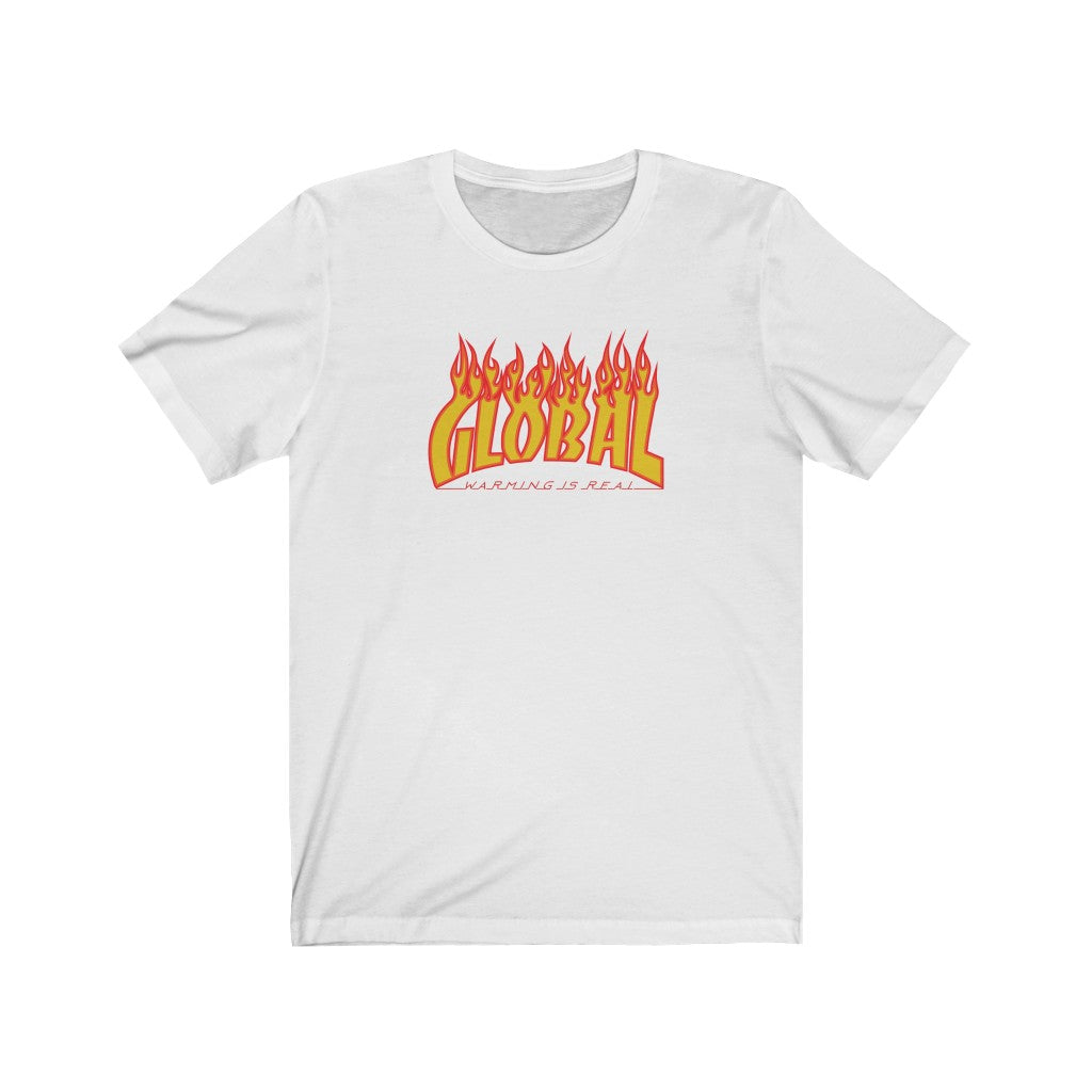 Global Warming Flames Short-Sleeve Tee