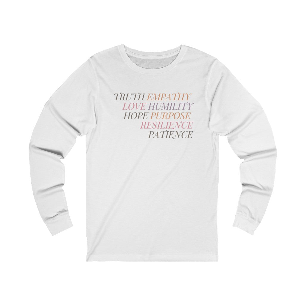 Love & Resilience Long Sleeve Tee