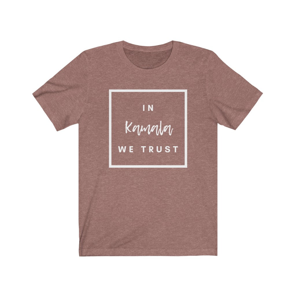kamala harris trust tshirt in mamala we trust