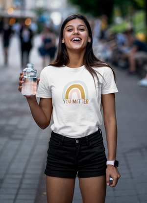 Positive Happy Woman Cute TShirt