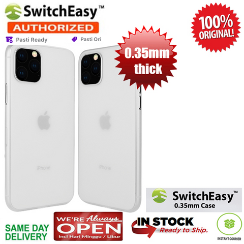 iPhone 2019 XI 11 Max / 11 R / 11 S Case Switcheasy Ultra Thin 0.35 mm