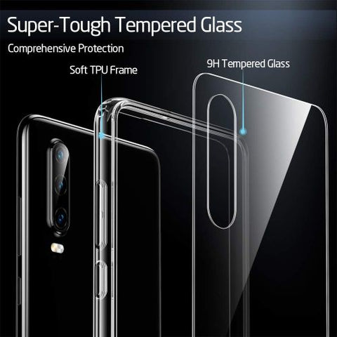 Huawei P30 Case P 30 ESR Mimic Series Clear (Back Glass Cover)