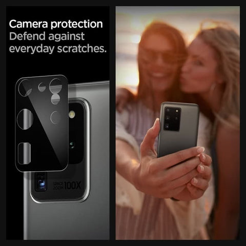 Samsung Galaxy S20 Ultra / S20 Plus Case Full CAMERA LENS PROTECTOR