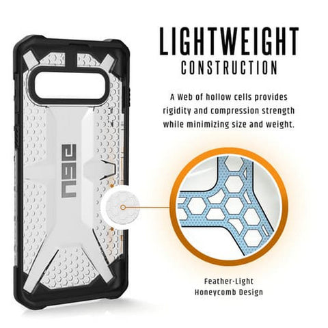 UAG Galaxy S10 Case Plasma