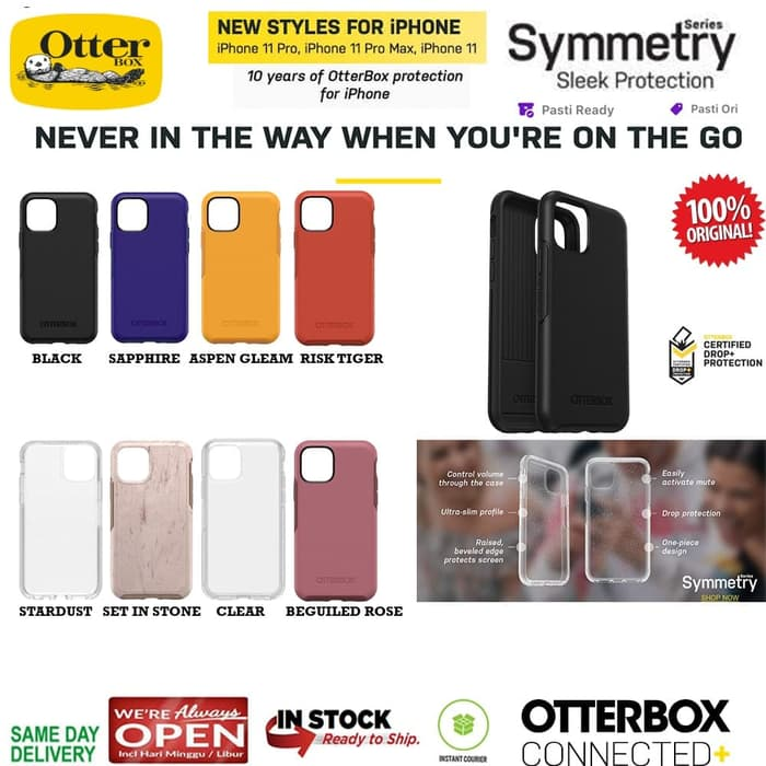 iPhone 11 / 11 Pro / 11 Pro Max Case Otterbox Symmetry Series ORIGINAL