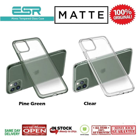 iPhone 11 Pro Case ESR ICE SHIELD MIMIC MATTE Glass Cover